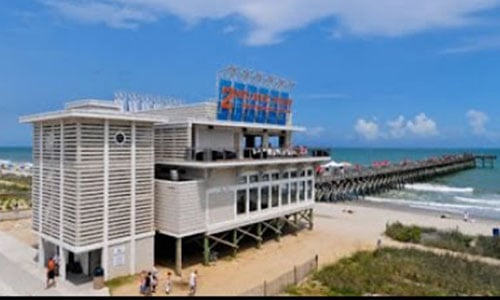 Take dining out options to a new level at one of the Myrtle Beach Piers.