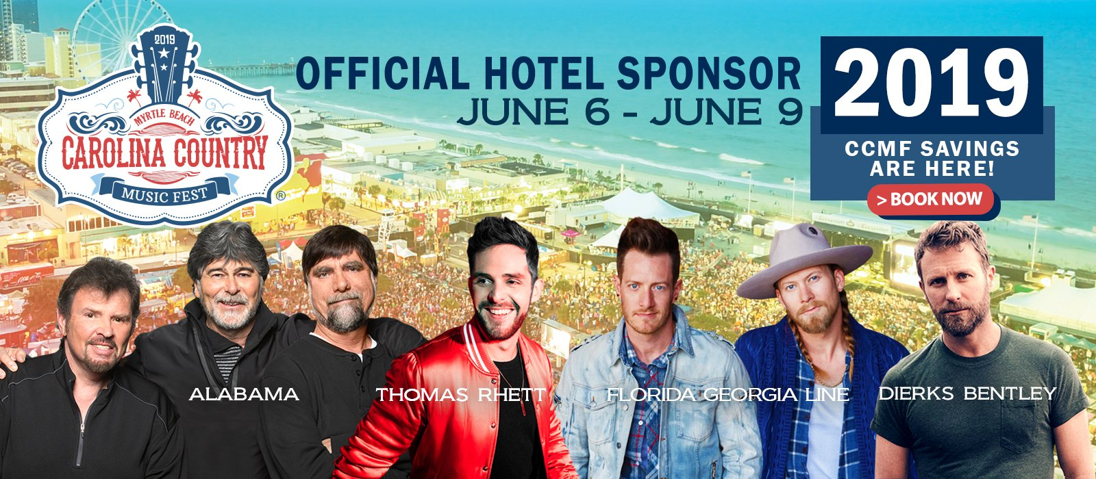 Carolina Country Music Fest Promo Image