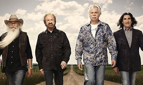 The Oak Ridge Boys Kick Off Celebration Tour at Alabama Theatre