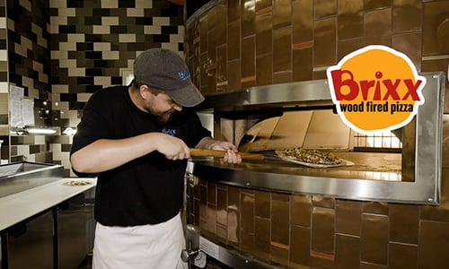 Oven Fired Pizza - Welcome Brixx Pizza to Myrtle Beach!