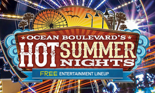 Hot Summer Nights on the Myrtle Beach Boardwalk