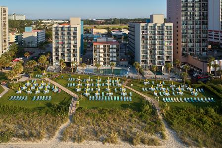 Oceanfront Lawn & Pools at the Dayton House Resort